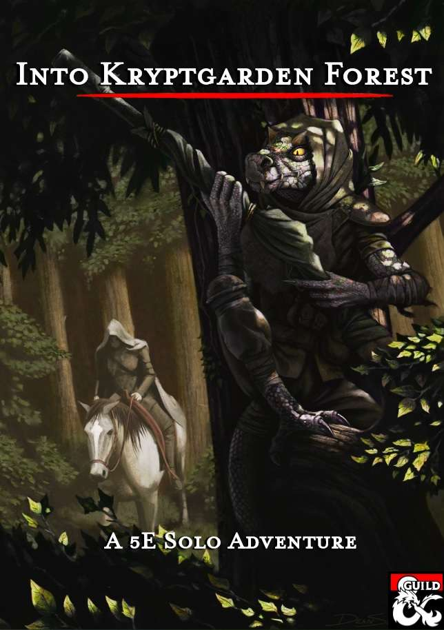 Into Kryptgarden Forest - A 5E Solo Adventure