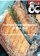 Volume 1 of Extracts from the Journal of Prin Orel