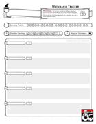 Metamagic Options Sheet