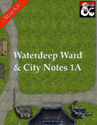 Waterdeep Ward reference chart and City Notes