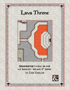 Undermountain Locale: Lava Throne