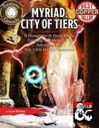 Myriad, City of Tiers (Fantasy Grounds)