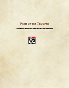 Barbarian Subclass-Path of the Trooper