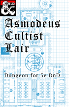 Asmodeus Cultist Hideout Dungeon