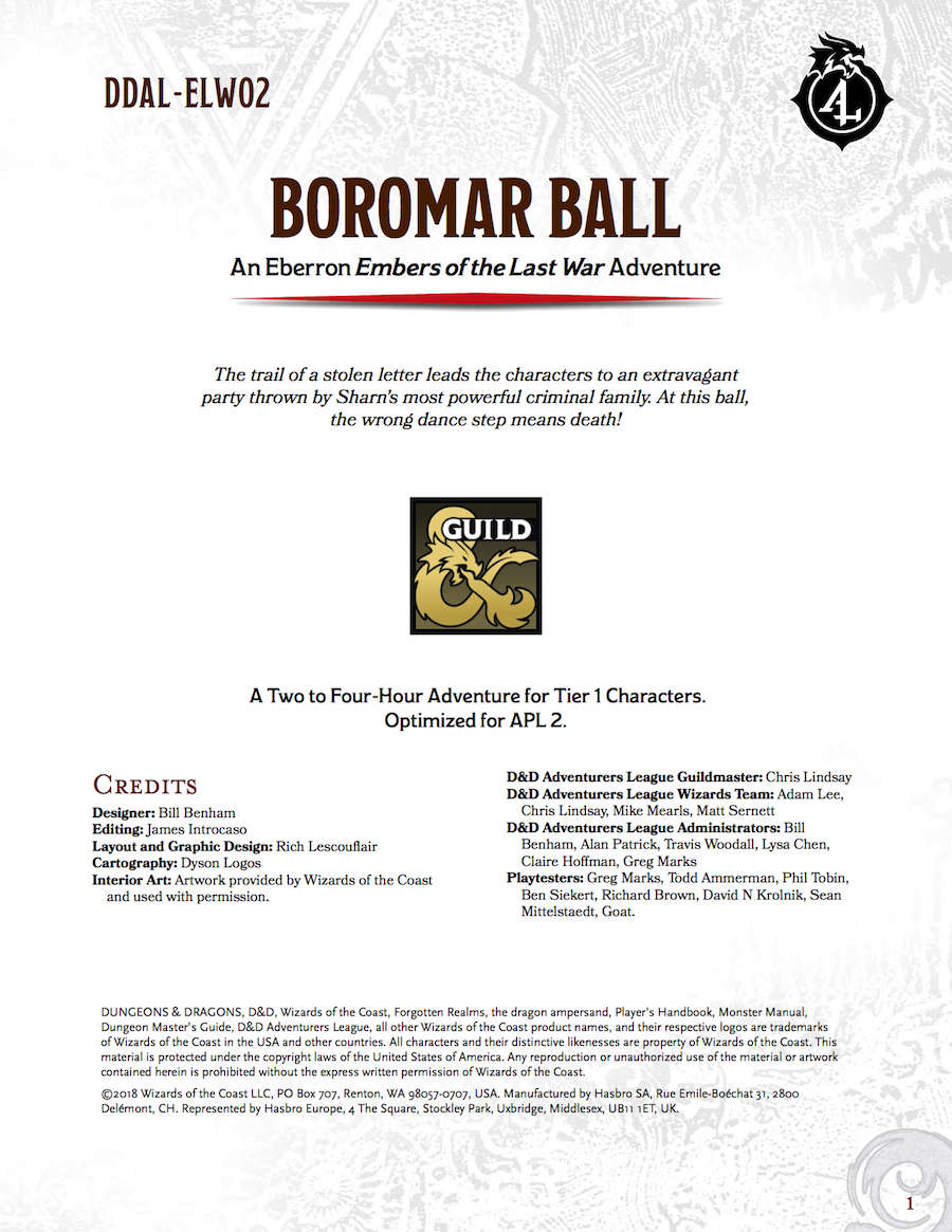 Ddal Elw02 Boromar Ball Dungeon Masters Guild Dungeon