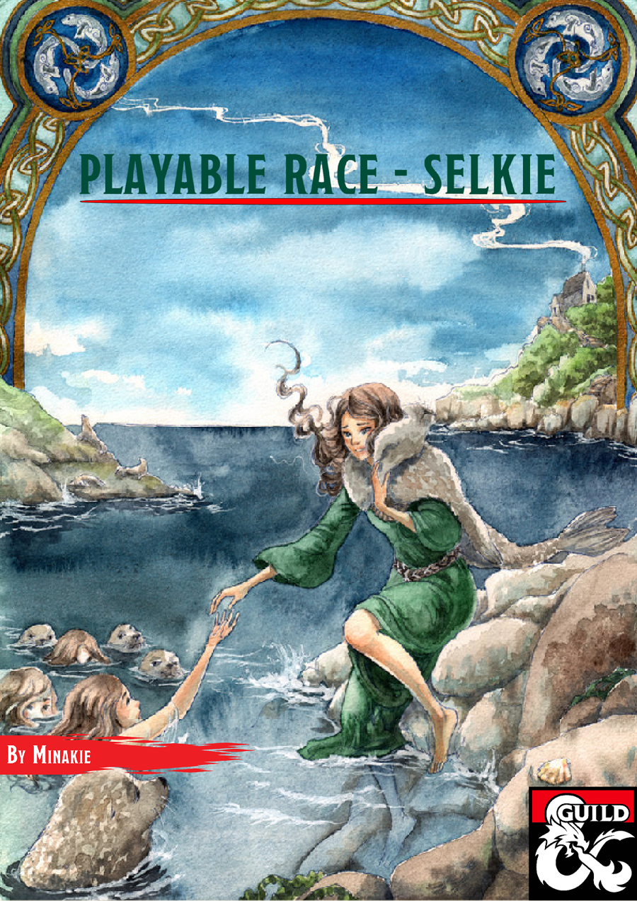 Playable Race Selkie Dungeon Masters Guild Dungeon Masters Guild