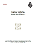 DDAL08-06 Purging the Blood