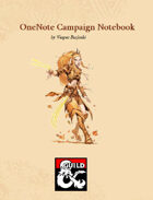 OneNote Campaign Notebook