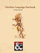 OneNote Campaign Notebook