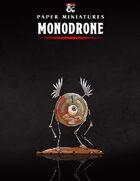 Monodrone Paper Miniature
