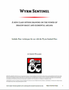 Wyrm Sentinel: A New Class Option for 5th Edition D&D