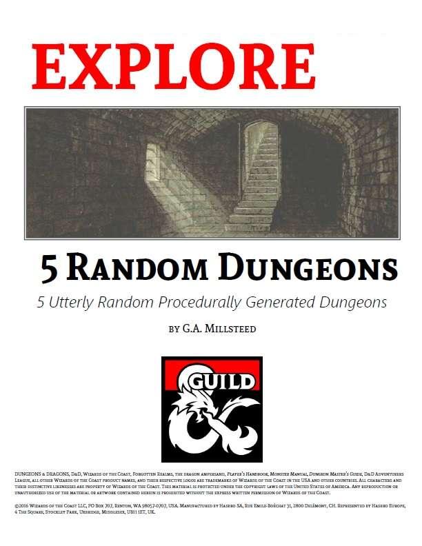 5 Random Dungeons