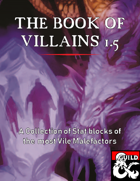 The Book of Villains: The Stat Block Collection