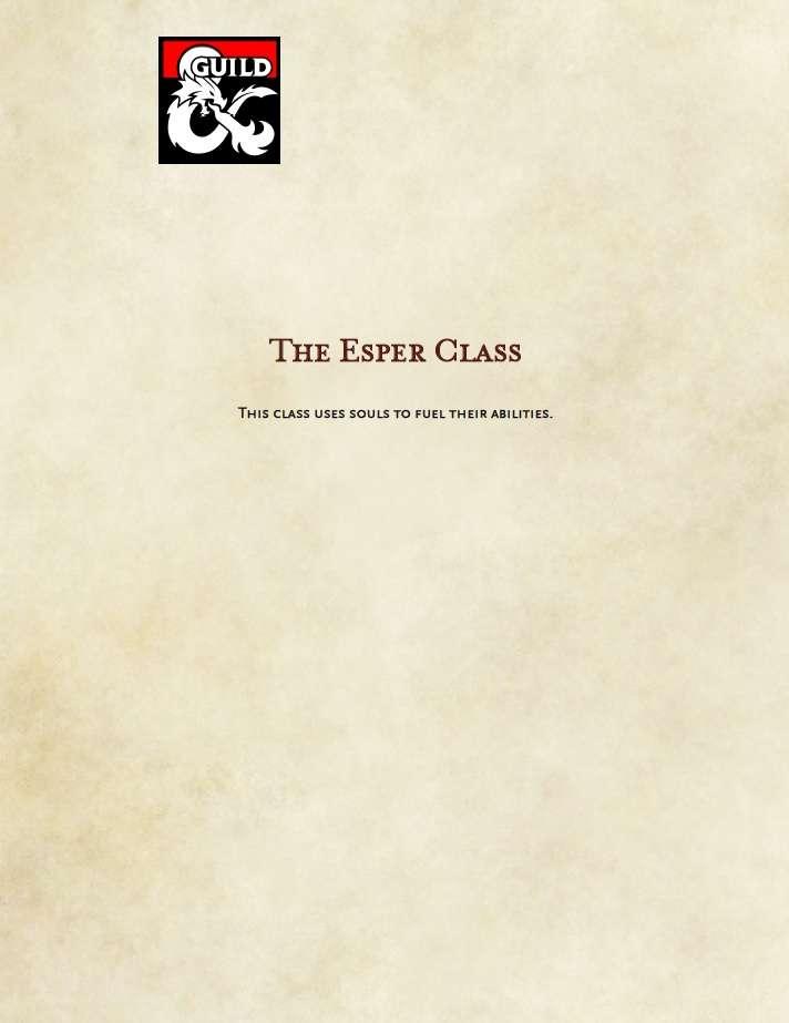 Esper class
