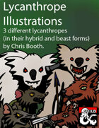 Lycanthrope Illustrations