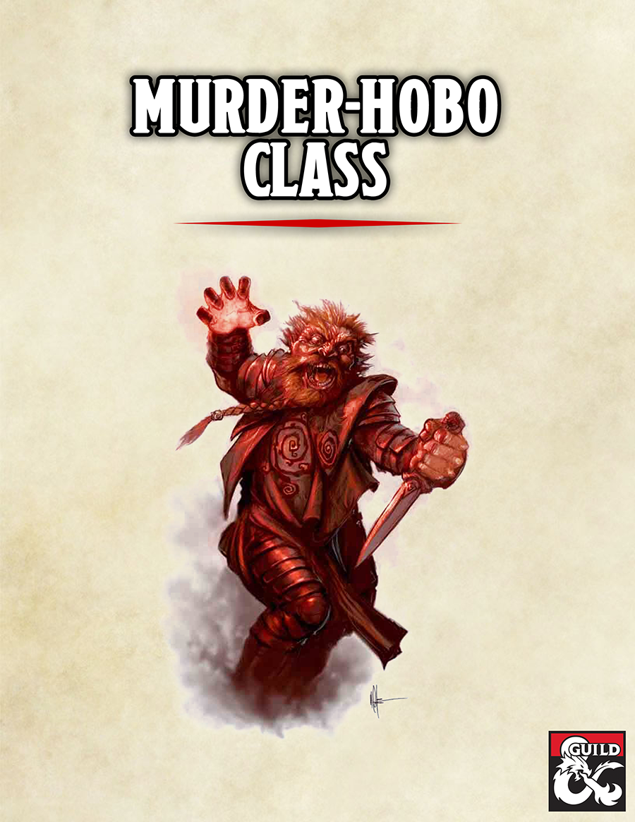 Murder-Hobo Class - Dungeon Masters Guild | Dungeon Masters Guild