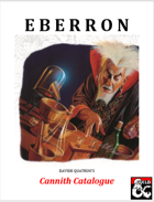 Cannith Catalogue - An Eberron Equipment Supplement