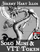 Demon 2 Solo Mini & VTT Token