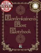 Mordenkainen's Lost Notebook (Fantasy Grounds)