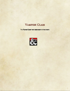 Class Option-Vampire