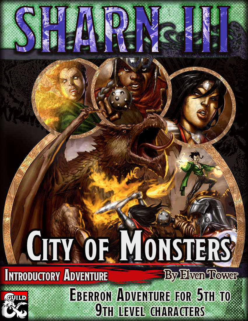 Cover of Sharn III, City of Monsters