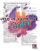 Opus of Elemental Cold