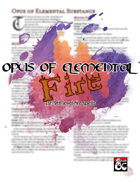 Opus of Elemental Fire