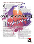 Opus of Elemental Lightning