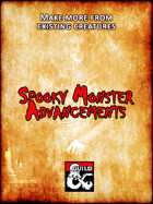 Spooky Monster Advancements