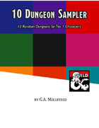 10 Dungeon Sampler