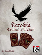 Tarokka Critical Hit Deck