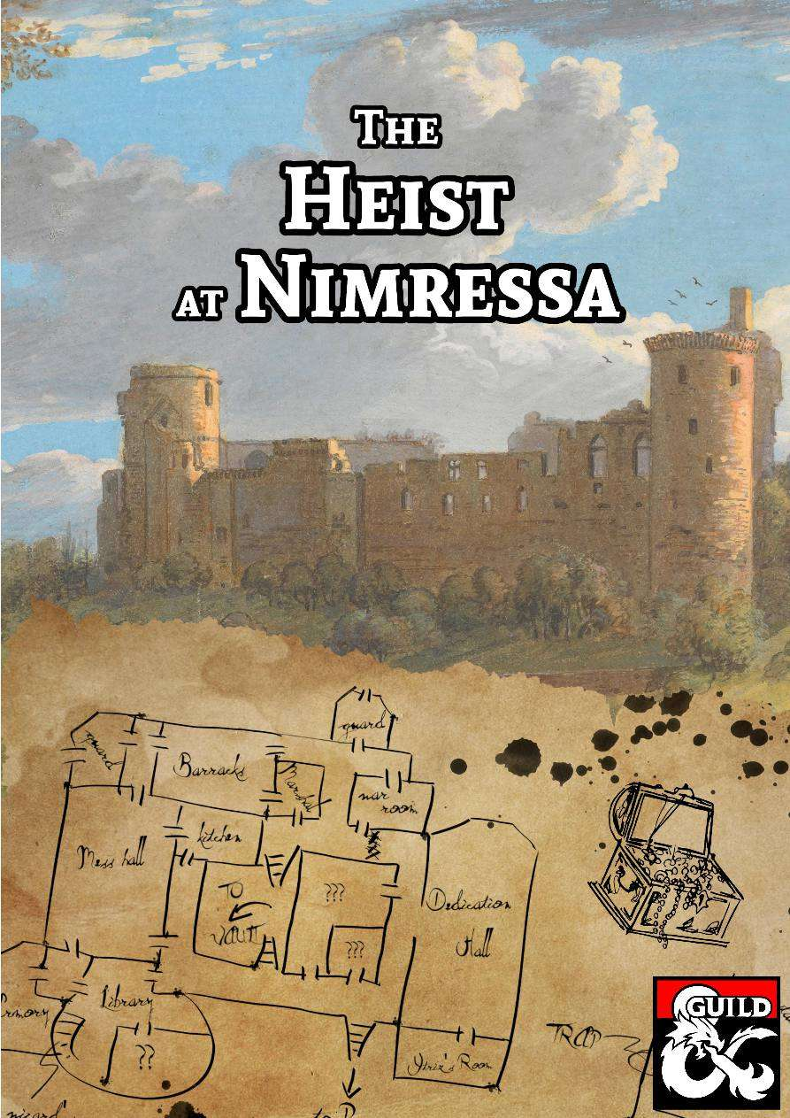 Cover of The Heist At Nimressa