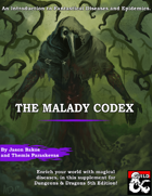 The Malady Codex: The Guide to Diseases