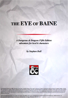 The Eye Of Baine