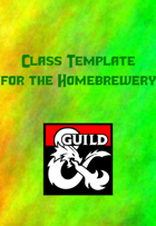 Class Template For Hombrewery