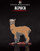 Alpaca Paper Miniature