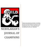 Nebularian's Journal of champions