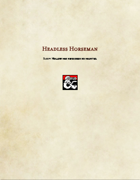 Monster-Headless Horseman
