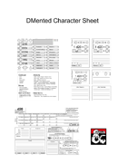 Character Sheet - DMented