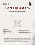 DDAL08-08 Crypt of the Dark Kiss