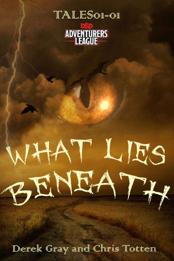 CCC-ALMOG-01 TALES01-01 What Lies Beneath cover art