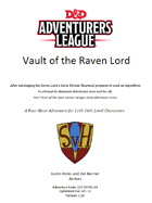 CCC-SVH-01-03 Vault of the Raven Lord