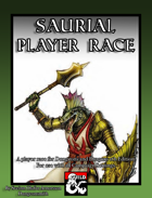 Saurial Player Race (5e)