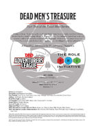 CCC-TRI-25 Dead Men's Treasure (Part Two of the Dead Men Series)