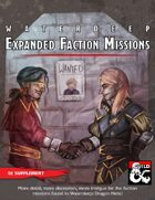 Waterdeep: Expanded Faction Missions