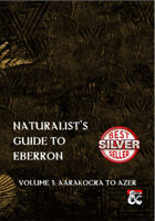 Naturalist\'s Guide to Eberron - Volume One