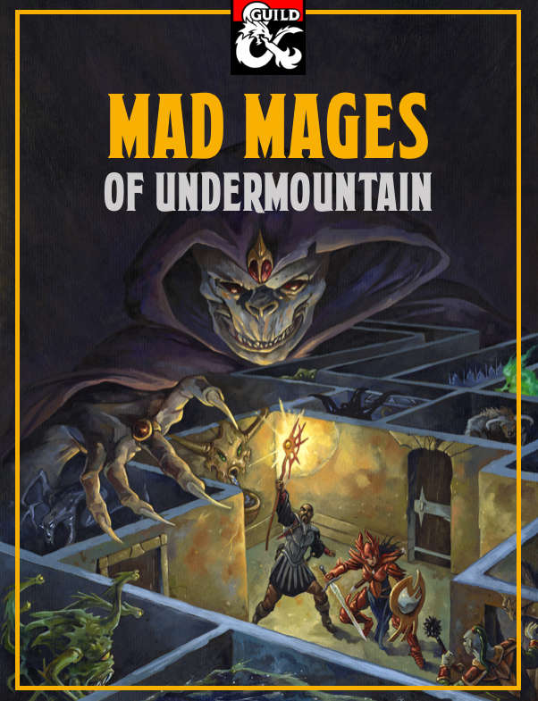 Mad Mages of Undermountain - Dungeon Masters Guild | Dungeon