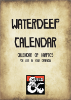 Calendar of Waterdeep (Harptos)