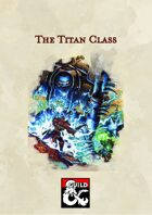 5th Edition Class: The Titan