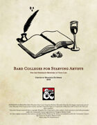 Bard Colleges for Starving Artists
